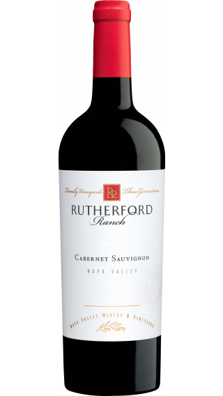 Bottle of Rutherford Ranch Cabernet Sauvignon 2015 wine 750 ml