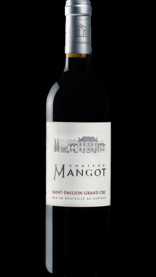 Bottle of Chateau Mangot Saint Emilion Grand Cru 2016 wine 750 ml