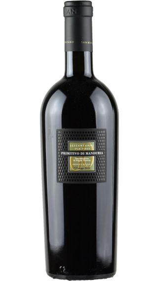 Bottle of San Marzano Primitivo di Manduria Sessantanni 2016 wine 750 ml