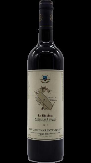 Bottle of San Giusto a Rentennano La Ricolma 2012 wine 750 ml