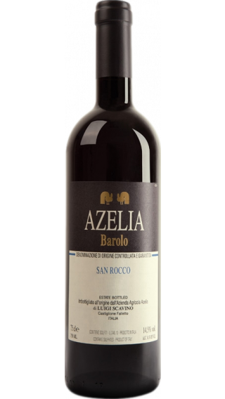 Bottle of Azelia Barolo San Rocco 2014 wine 750 ml