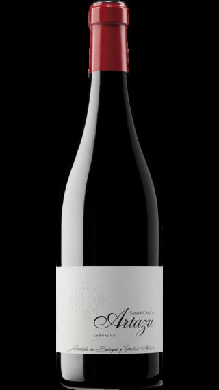 Bottle of Artadi Santa Cruz de Artazu 2015 wine 750 ml