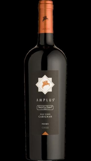 Bottle of Santa Ema Amplus Old Vine Carignan 2017 wine 750 ml