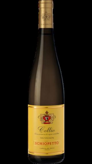 Bottle of Schiopetto Collio Sauvignon 2017 wine 750 ml