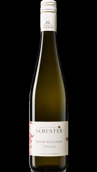 Bottle of Schuster Roter Veltliner Wagram 2017 wine 750 ml