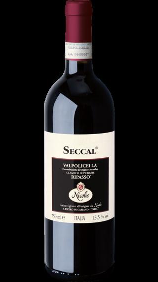 Bottle of Nicolis Seccal Valpolicella Ripasso 2015 wine 750 ml