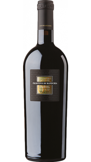 Bottle of San Marzano Primitivo di Manduria Sessantanni 2016 wine 750 ml