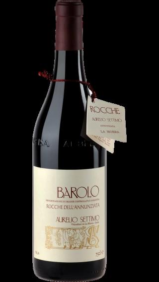 Bottle of Aurelio Settimo Barolo Rocche dell'Annunziata 2015 wine 750 ml
