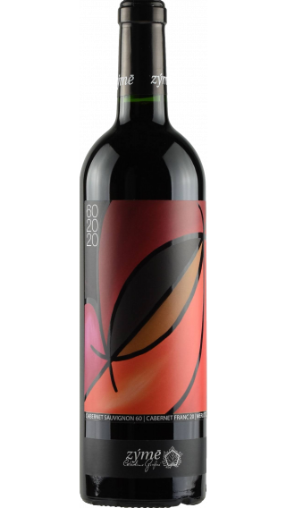 Bottle of Zyme 60 20 20 Cabernet 2017 wine 750 ml