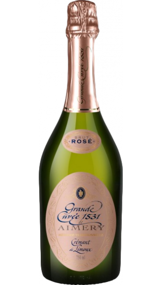 Bottle of Grande Cuvee 1531 Cremant de Limoux Rose Brut wine 750 ml