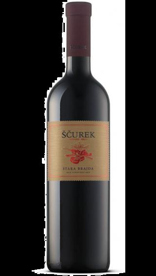 Bottle of Scurek Stara Brajda Rdece 2017 wine 750 ml