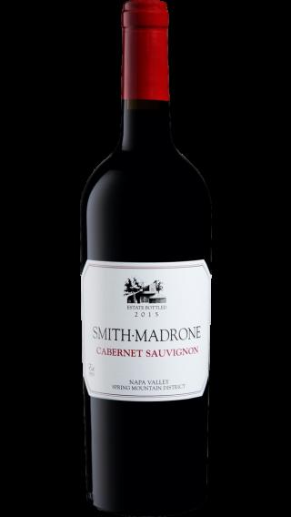 Bottle of Smith Madrone Cabernet Sauvignon 2015 wine 750 ml