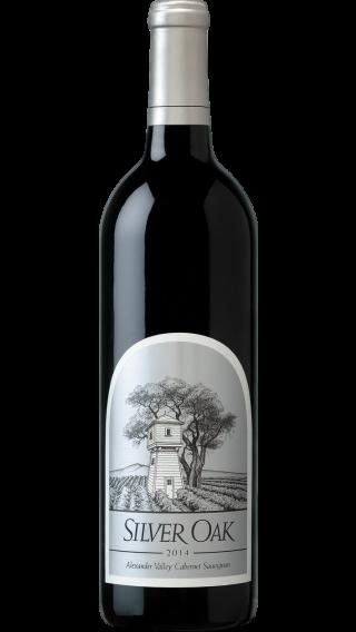 Bottle of Silver Oak Alexander Valley Cabernet Sauvignon 2016 wine 750 ml