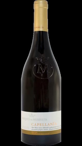 Bottle of Marques de Murrieta Capellanía Rioja Blanco Reserva 2009 wine 750 ml