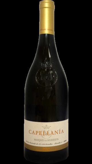 Bottle of Marques de Murrieta Capellania Rioja Blanco Reserva 2012 wine 750 ml