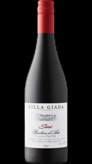 Bottle of Villa Giada Suri Barbera D'Asti 2017 wine 750 ml