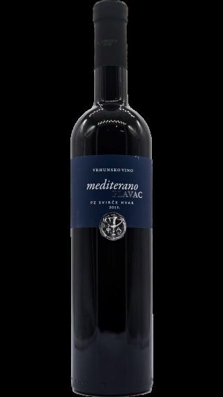 Bottle of Svirce Plavac Mediterano 2016 wine 750 ml