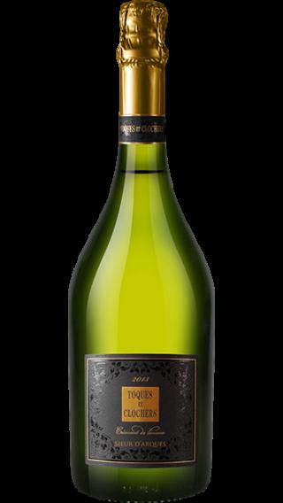 Bottle of Sieur d'Arques Cremant Toques et Clochers Edition Limite 2013 wine 750 ml
