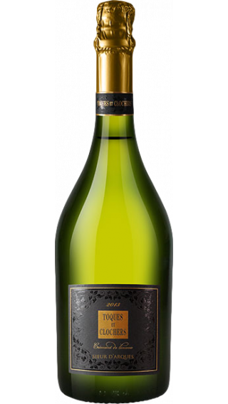 Bottle of Cremant Toques et Clochers Edition Limite 2015 wine 750 ml
