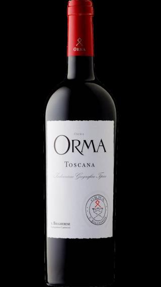 Bottle of Tenuta Sette Ponti Orma 2014 wine 750 ml