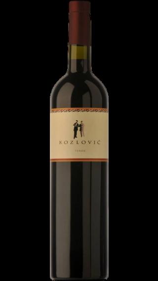 Bottle of Kozlovic Teran 2016 wine 750 ml