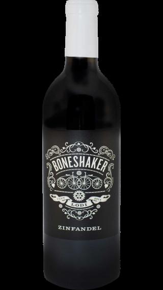 Bottle of Boneshaker Zinfandel 2014 wine 750 ml