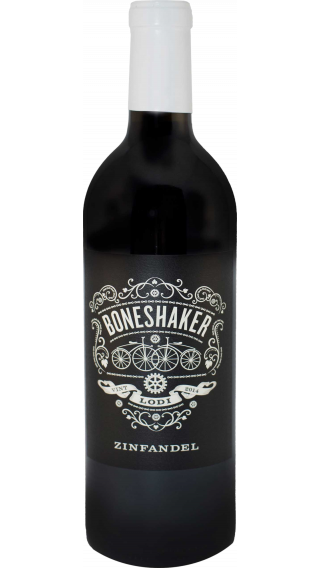 Bottle of Boneshaker Zinfandel 2015 wine 750 ml