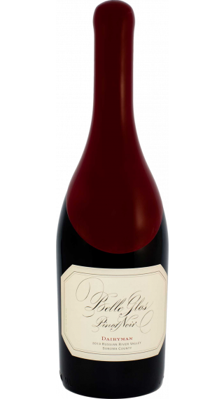 Bottle of Belle Glos Dairyman Pinot Noir 2013 wine 750 ml