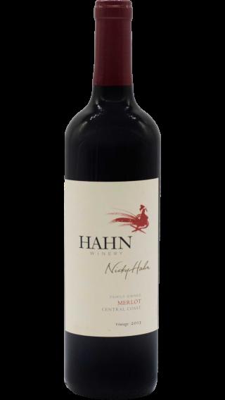 Bottle of Hahn Merlot 2014 wine 750 ml