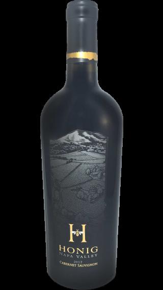 Bottle of Honig Cabernet Sauvignon 2015 wine 750 ml