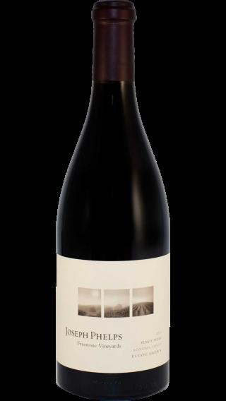 Bottle of Joseph Phelps Pinot Noir Freestone Vineyard 2012 wine 750 ml