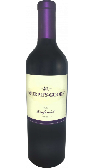 Bottle of Murphy Goode Zinfandel 2012 wine 750 ml