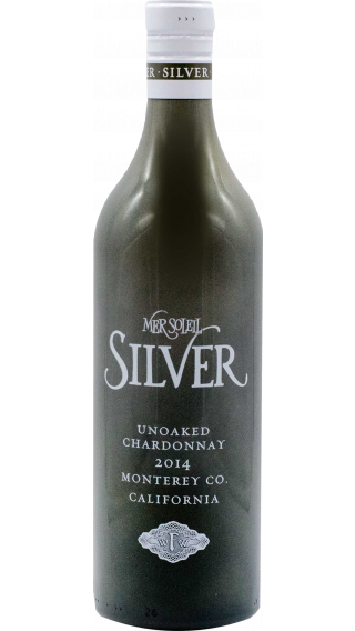 Bottle of Mer Soleil Silver Chardonnay 2015 wine 750 ml