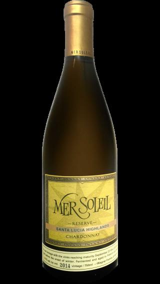Bottle of Mer Soleil Reserve Chardonnay 2015 wine 750 ml