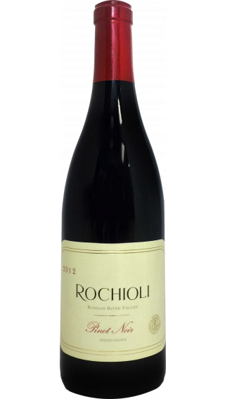 Bottle of Rochioli Estate Pinot Noir 2014 wine 750 ml