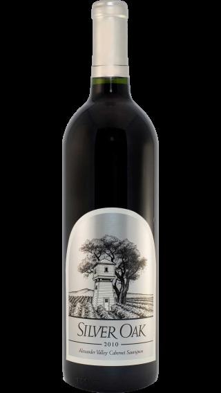 Bottle of Silver Oak Alexander Valley Cabernet Sauvignon 2012 wine 750 ml