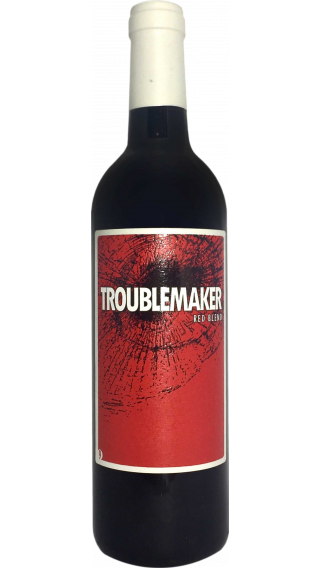 Bottle of Troublemaker Red Blend 9 wine 750 ml