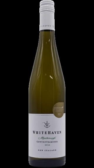 Bottle of Whitehaven Gewurztraminer 2016 wine 750 ml