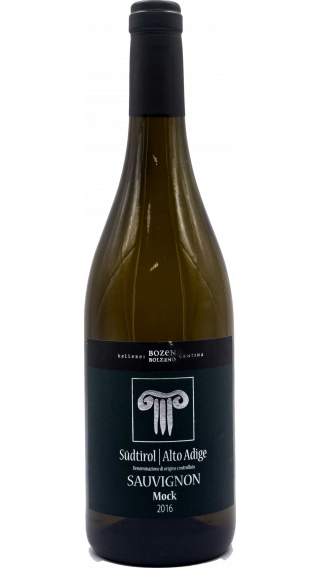 Bottle of Kellerei Bozen Sauvignon Blanc Mock 2016 wine 750 ml