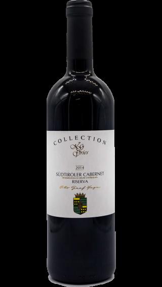 Bottle of Kellerei Bozen Cabernet Riserva Graf Huyn 2014 wine 750 ml