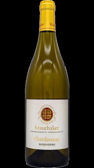 Bottle of Krauthaker Chardonnay Rosenberg 2015 wine 750 ml