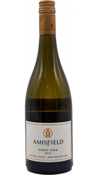 Bottle of Amisfield Pinot Gris 2016 wine 750 ml