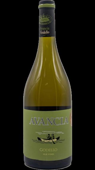Bottle of Avancia Godello 2015 wine 750 ml
