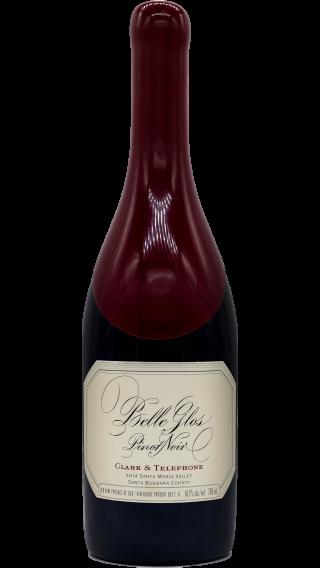 Bottle of Belle Glos Clark & Telephone Pinot Noir 2014 wine 750 ml