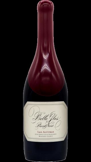 Bottle of Belle Glos Las Alturas Pinot Noir 2014 wine 750 ml