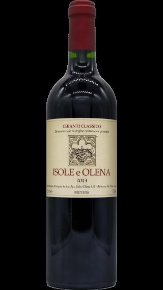 Bottle of Isole e Olena Chianti Classico 2013 wine 750 ml