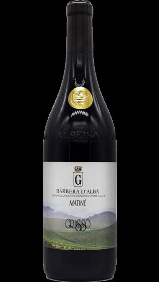 Bottle of Grasso Fratelli Barbera d'Alba Matine 2011 wine 750 ml