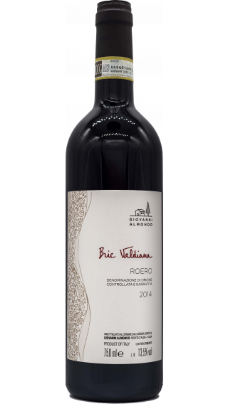 Bottle of Giovanni Almondo Roero Bric Valdiana 2014 wine 750 ml