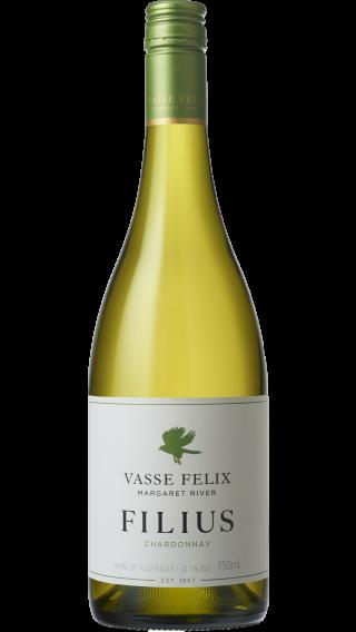 Bottle of Vasse Felix Filius Chardonnay 2018 wine 750 ml