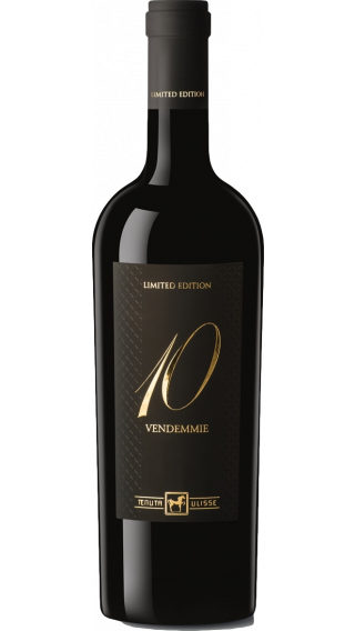 Bottle of Tenuta Ulisse 10 Vendemmie Limited Edition wine 750 ml